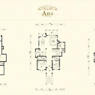 二期独栋A13-1户型
