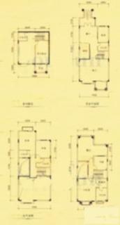 二期坡地别墅H型
