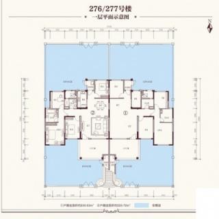洋房276#、277#一层