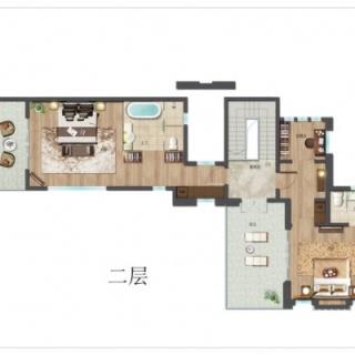 别墅F户型二层