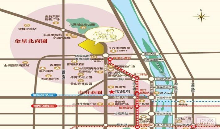 盈峰翠邸规划图2