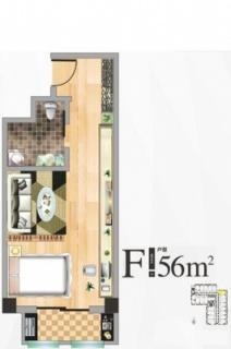 公寓楼F户型