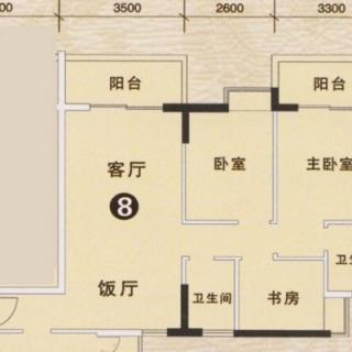 3期银松七街1栋、3栋01户型