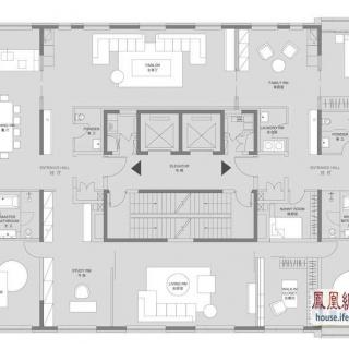 中鹰黑森林8b-1 户型 4室3厅2卫