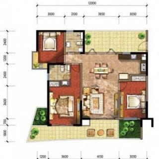 公寓C2户型