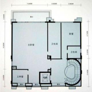 桃菁街3-27号三层户型
