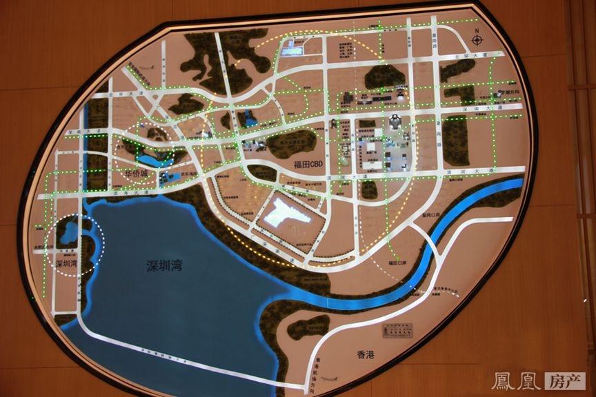 绿景红树湾壹号规划图2