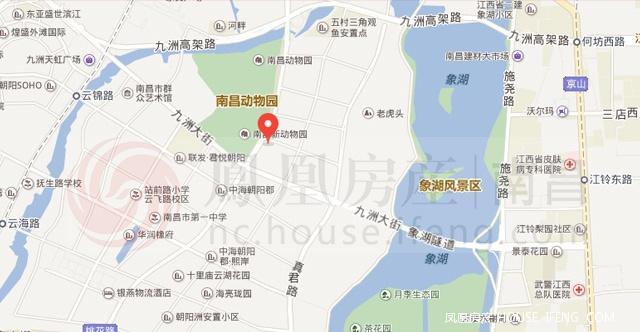 该楼盘地块仅距象湖风景区600米,临近南昌动物园,距离地铁口1.