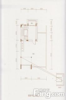 C-1户型屋面布置图