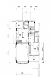 联排别墅B1户型约192平