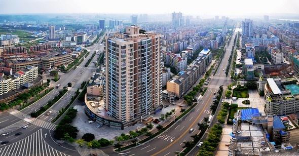 潼南金福新区规划图