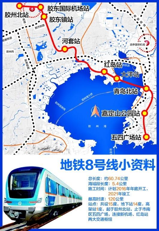 青岛地铁9号线(规划)起点站为晓阳社区站
