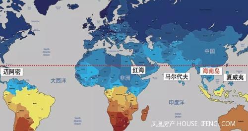 """东部沿海,与""""国家海岸""""三亚海棠湾接壤,毗邻陵水黎安港国际旅游岛先行"""