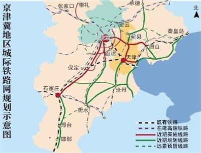 平谷线开工北京地铁首进河北 沿线好盘大搜罗图片