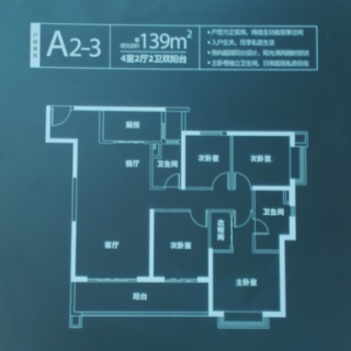 A2-3户型