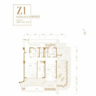 公寓Z1户型