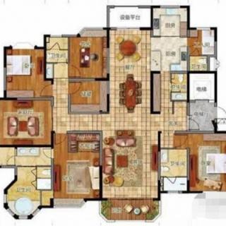 5室户型图