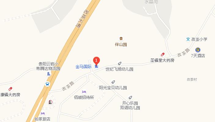 贵阳三桥地铁线路图