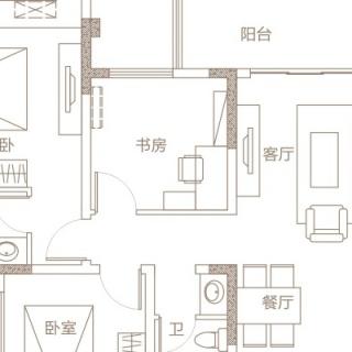 A1三室两厅双卫
