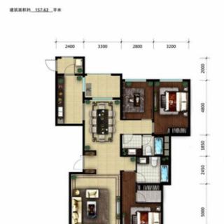 A4号楼3-01户型