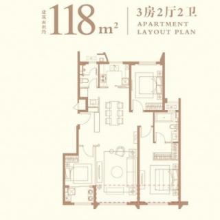 118平户型图