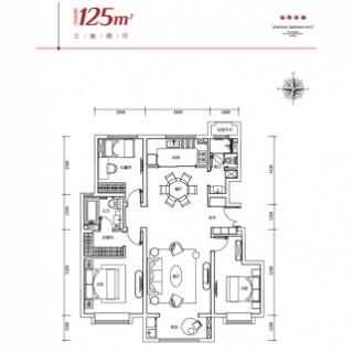 125平米洋房