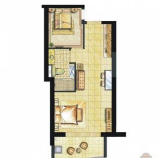 听澜公寓E2-3户型