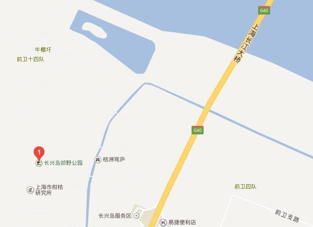 浦江镇浦星公路近联跃路 定位 浦江郊野公园是上海首座秋景公园,公园定位是以森林运动、滨水休闲、周末度假、农业科普为主要功能的近郊都市森林型郊野公园。 规模 浦江郊野公园总面积15.29平方公里,一期启动区位于郊野公园东北角,北至昌林路(新建),南至联跃路,东至浦星公路,西至浦锦路,申嘉湖高速将其分为南北两块。 特色 园艺耕岛:打造观赏性强的园艺景观,形成一处坐落在森林中的特色园艺岛。岛上有适量建筑,顾客可参与园艺制作、园艺展览。 白鹭柳岸:保留现有柳树和水系,引入白鹭等动物,创造充满野趣自然的氛