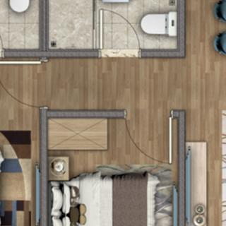 高层公寓82平米