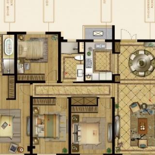 5号楼及9号楼162-170平C户型