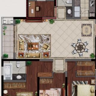 139四房两厅两卫