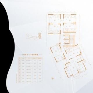 H4栋6-14层平面图