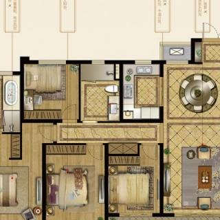 6号楼及7号楼158-162平B户型