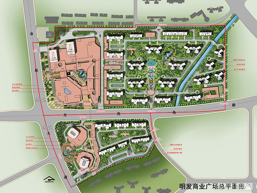明发国际城规划图2