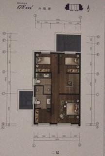 联排别墅178平二层