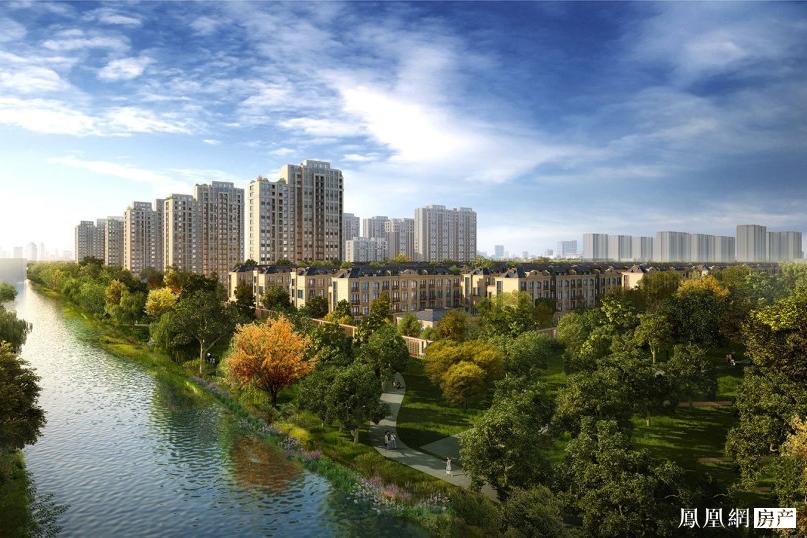 中国铁建香榭国际效果图1