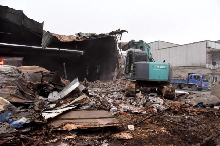 做好老旧工业点违法建筑拆除及拆后利用工作是加快推进玉环高质量发展