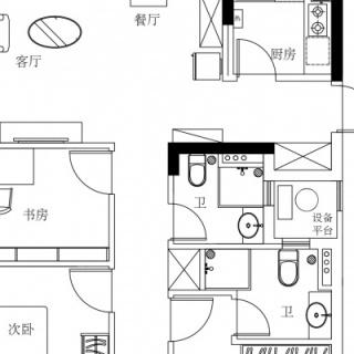 24#、25#楼J户型