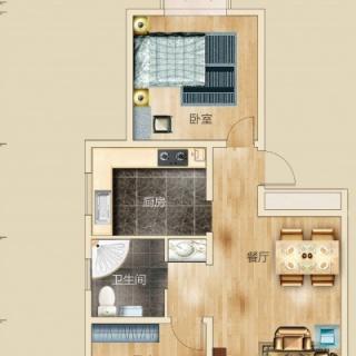 三室两厅两卫 123平