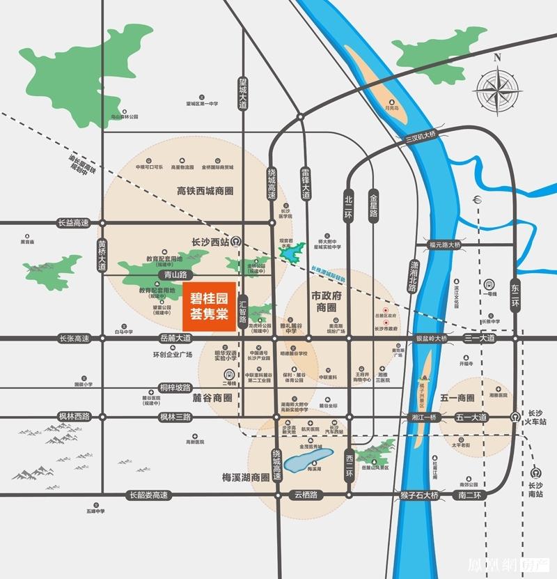 碧桂园荟隽棠规划图2