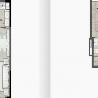 6栋两房复式户型