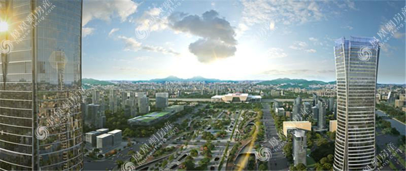 宝能郑州中心实景图3