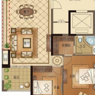 C4 四室两厅两卫 139平方米
