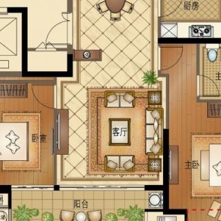B6 四室两厅两卫 142平方米