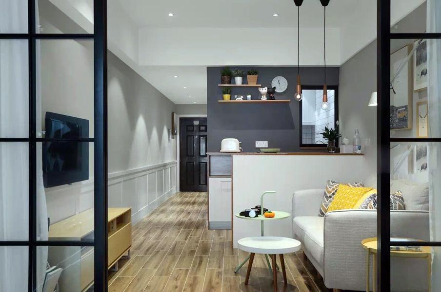 大开间一居,精装修,拎包入住,孔雀城公寓。