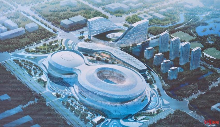 成都大运会场馆建得怎么样了?劳动竞赛今天开始 ——凤凰网房产成都