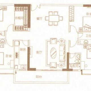 豪庭01户型