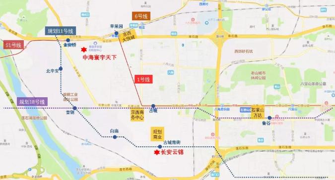 长安云锦规划图2