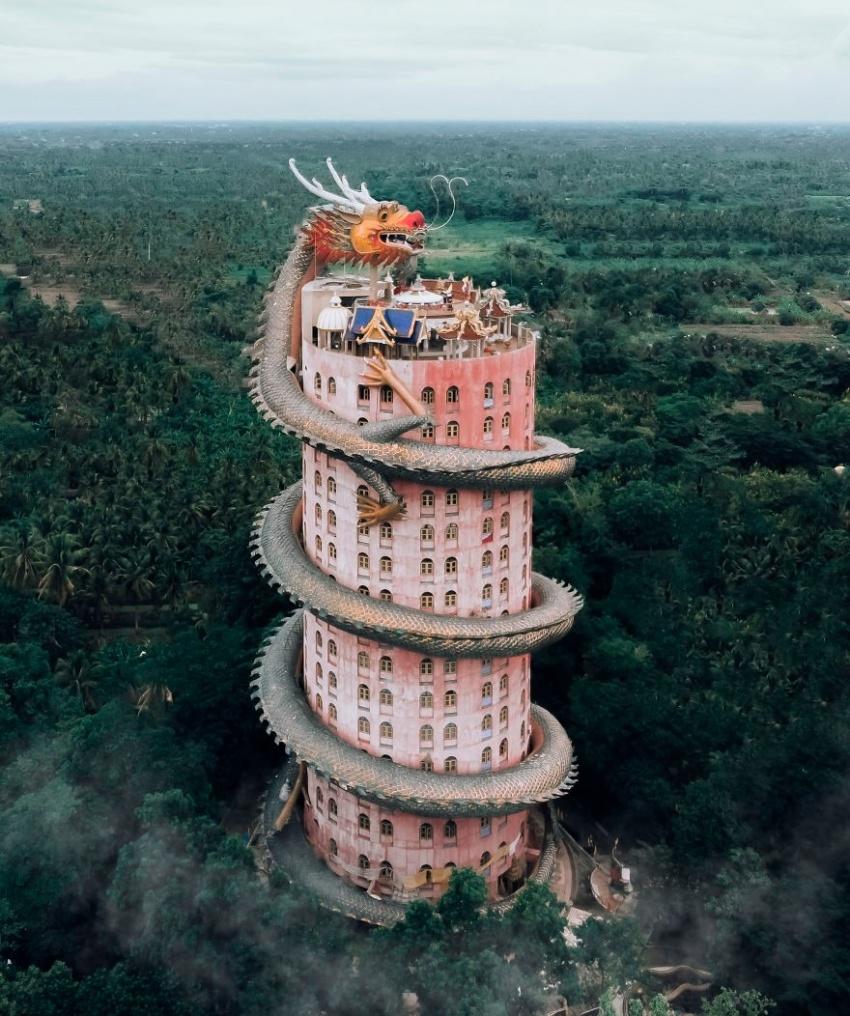 """外国摄影师眼中亚洲最""""疯狂""""寺庙盘点,中国超半数"""