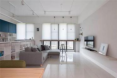 92㎡清新休闲北欧 打造美观实用居室空间